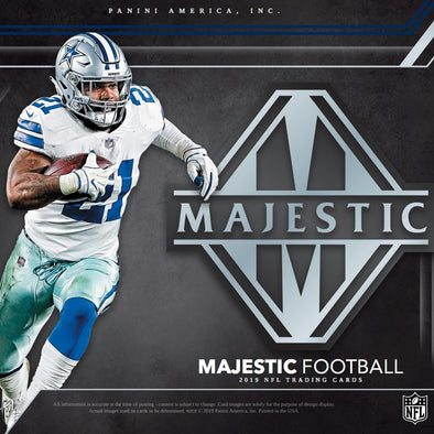 2019 Panini Majestic Football Hobby Box - 401 Games