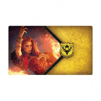 Game of Thrones Living Card Game - The Red Woman Playmat - 401 Games