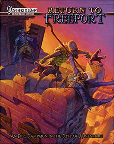 Buy Pathfinder - Book - Return to Freeport and more Great RPG Products at 401 Games