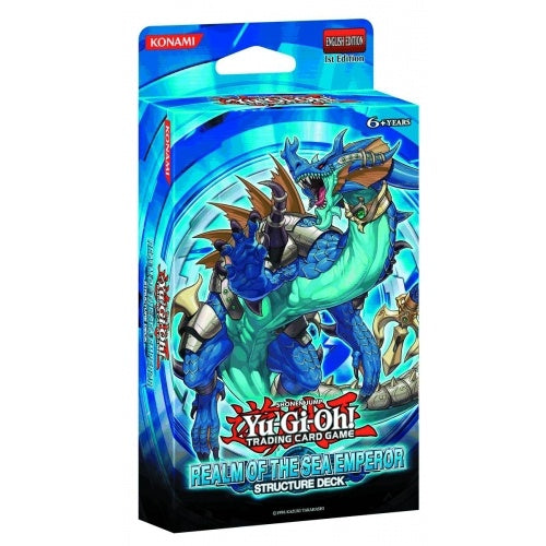 Yugioh - Realm of the Sea Emperor - Structure Deck - 401 Games