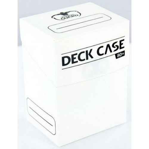 Ultimate Guard - Deck Case 80ct - White - 401 Games