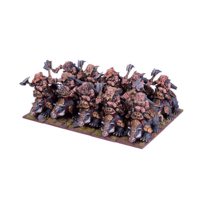 Kings of War - Dwarfs - Brock Riders Regiment