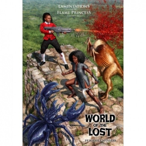 Buy Lamentations of the Flame Princess - World of the Lost and more Great RPG Products at 401 Games
