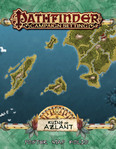 Pathfinder - Campaign Setting - Ruins of Azlant Map Folio
