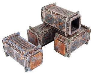 Tinkerturf - Sci-Fi Containers - Abandoned - 401 Games