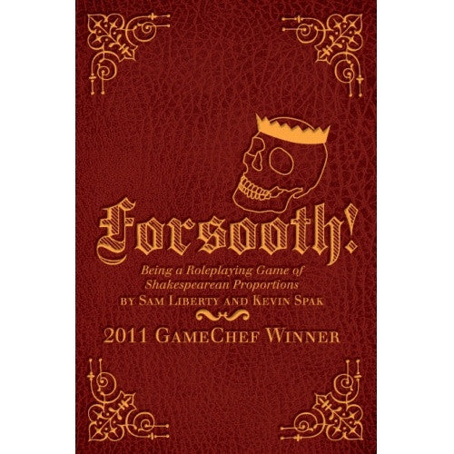 Forsooth! - Core Rulebook - 401 Games