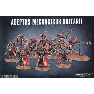 Buy Warhammer 40,000 - Adeptus Mechanicus - Skitarii and more Great Games Workshop Products at 401 Games