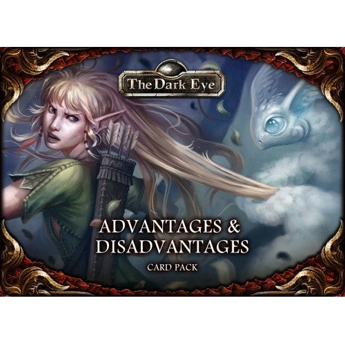 Buy The Dark Eye - Advantages & Disadvantages Card Pack and more Great RPG Products at 401 Games