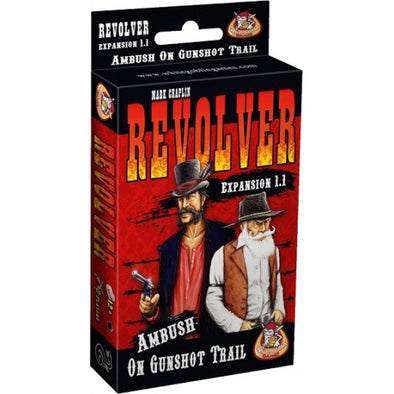 Buy Revolver Expansion 1.1 - Ambush on Gunshot Trail and more Great Board Games Products at 401 Games