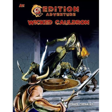 Dungeons and Dragons - 5th Edition - 5th Edition Adventures: A3 - Wicked Cauldron - 401 Games