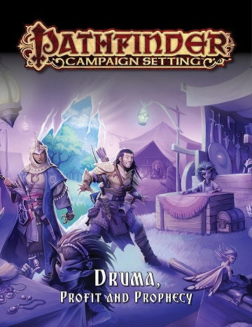 Buy Pathfinder - Campaign Setting - Druma, Prophet and Prophecy (Pre-Order) and more Great RPG Products at 401 Games