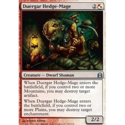 Duergar Hedge-Mage (CMD) available at 401 Games Canada