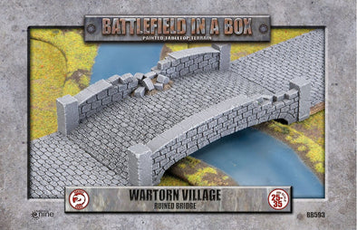Battlefield in a Box - Wartorn Village - Ruined Bridge - 401 Games