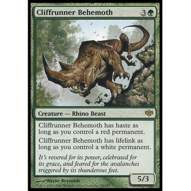 Cliffrunner Behemoth (CON) available at 401 Games Canada