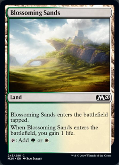 Blossoming Sands (M20) - 401 Games