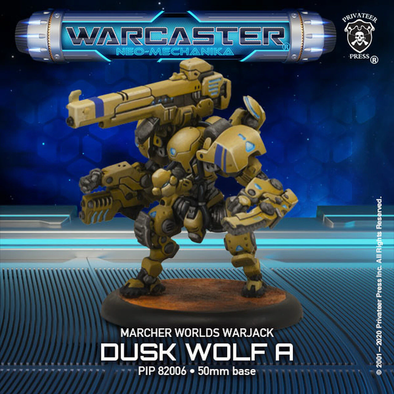 Warcaster - Neo-Mechanika - Marcher Worlds - Dusk Wolf (Variant A) - 401 Games