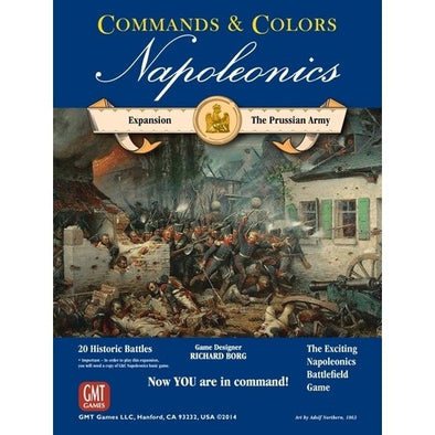 Buy Commands & Colors: Napoleonics - The Prussian Army and more Great Board Games Products at 401 Games