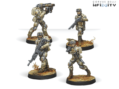 "Infinity - Ariadna - 5th Minutemen Regiment ""Ohio"" - 401 Games"