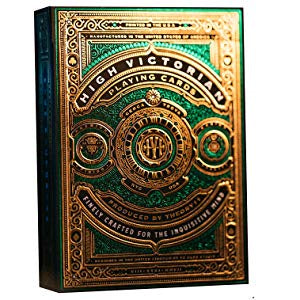 Theory11 - Playing Cards - High Victorian (Green) available at 401 Games Canada