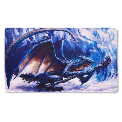 Dragon Shield - Limited Edition Play Mat - Sapphire Royenna