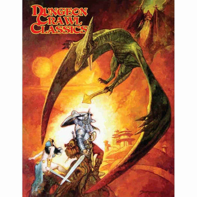 Dungeon Crawl Classics - Core Rulebook - Sanjulian Limited Edition Cover - 401 Games