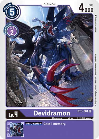 Devidramon (BT3-081) available at 401 Games Canada