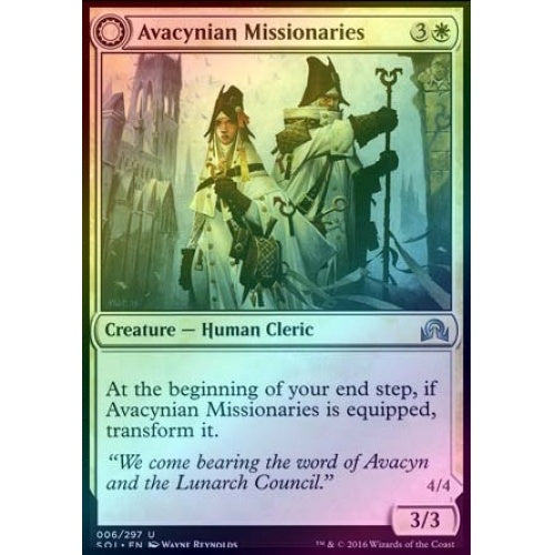 Avacynian Missionaries | Lunarch inquisitors (Foil)
