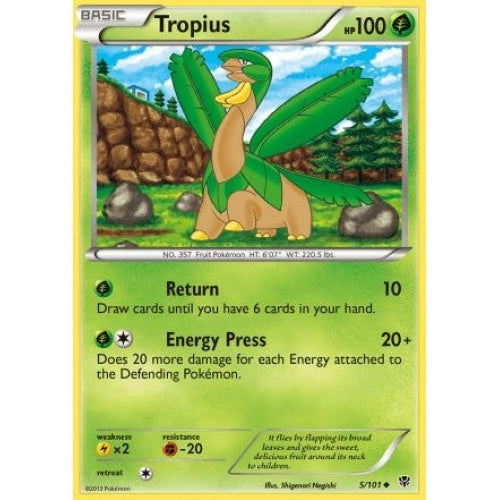 Tropius - 5/101 (PLB005) available at 401 Games Canada