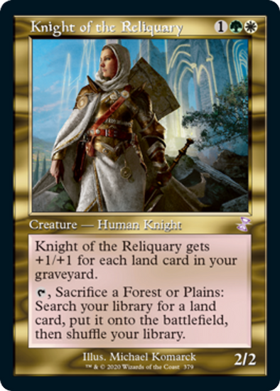 Knight of the Reliquary (TSR) (Pre-Order: 2021-03-19)