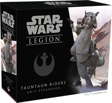 Buy Star Wars - Legion - Rebel Tauntaun Riders Unit Expansion (Pre-Order) and more Great Tabletop Wargames Products at 401 Games