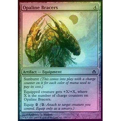 Opaline Bracers (Foil) (5DN) available at 401 Games Canada
