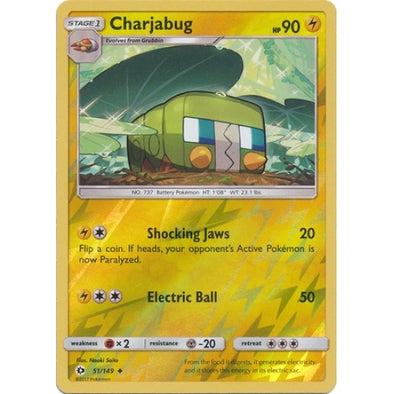 Buy Charjabug - 51/149 - Reverse Foil and more Great Pokemon Products at 401 Games