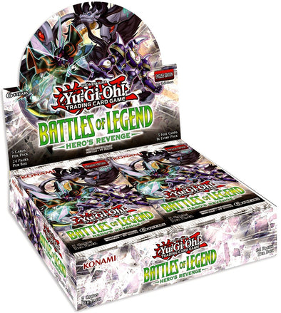 Buy Yugioh - Battles of Legend - Hero's Revenge Booster Box (Pre-Order July 11, 2019) and more Great Yugioh Products at 401 Games