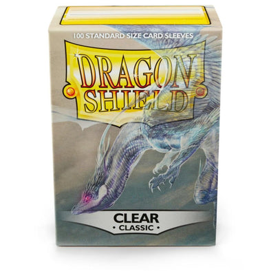 Dragon Shield - 100ct Standard Size - Clear available at 401 Games Canada