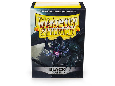 Dragon Shield - 100ct Standard Size - Black available at 401 Games Canada