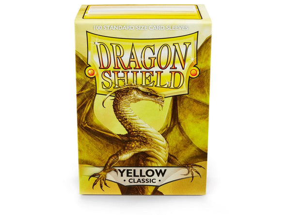 Buy Dragon Shield - 100ct Standard Size - Yellow and more Great Sleeves & Supplies Products at 401 Games