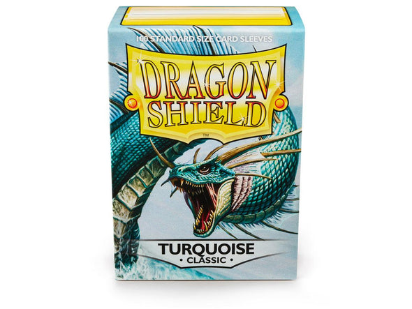 Buy Dragon Shield - 100ct Standard Size - Turquoise and more Great Sleeves & Supplies Products at 401 Games