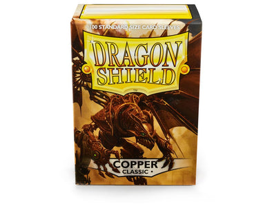 Buy Dragon Shield - 100ct Standard Size - Copper and more Great Sleeves & Supplies Products at 401 Games