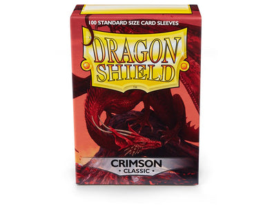 Buy Dragon Shield - 100ct Standard Size - Crimson and more Great Sleeves & Supplies Products at 401 Games