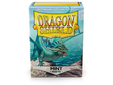 Buy Dragon Shield - 100ct Standard Size - Mint Matte and more Great Sleeves & Supplies Products at 401 Games