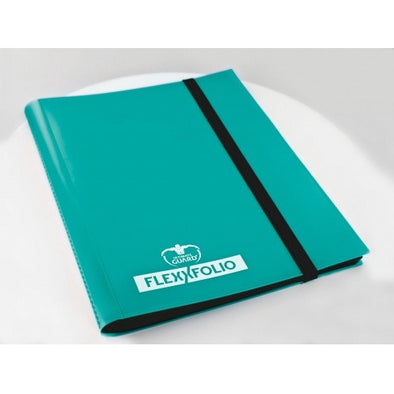 Buy Ultimate Guard - 9 Pocket Flexxfolio - Turquoise and more Great Sleeves & Supplies Products at 401 Games