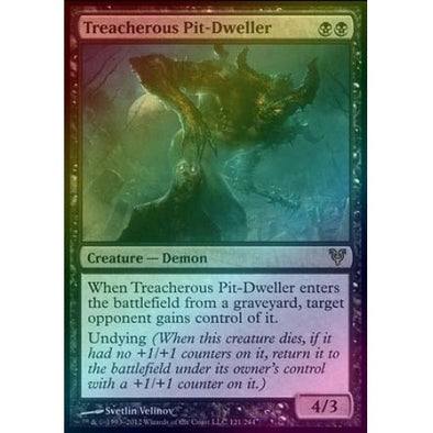 Treacherous Pit-Dweller (Foil) (AVR) available at 401 Games Canada
