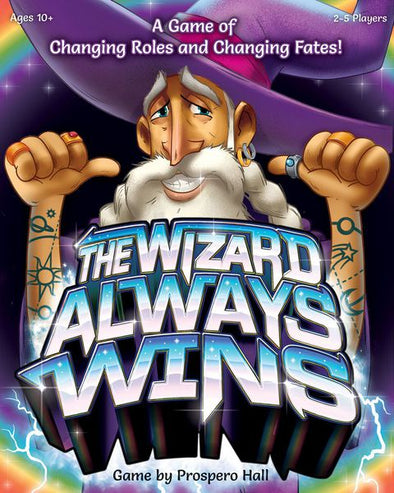 Buy The Wizard Always Wins and more Great Board Games Products at 401 Games