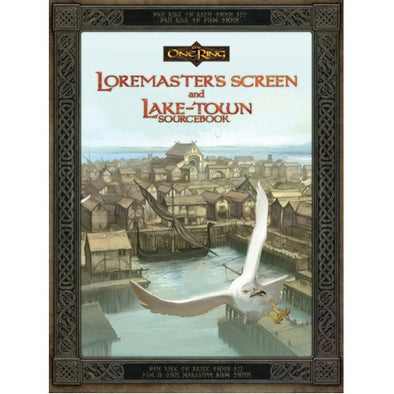 The One Ring - Loremasters Screen and Lake-Town Sourcebook - 401 Games