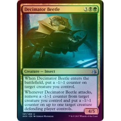 Decimator Beetle (Foil) (AKH) available at 401 Games Canada