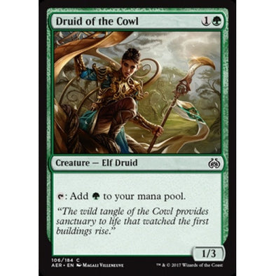 Druid of the Cowl (AER) available at 401 Games Canada