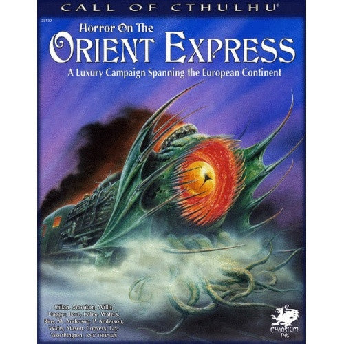 Call of Cthulhu - 7th Edition - Horror on the Orient Express - 401 Games