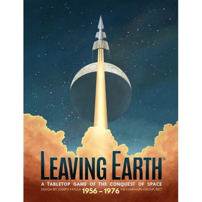 Buy Leaving Earth and more Great Board Games Products at 401 Games