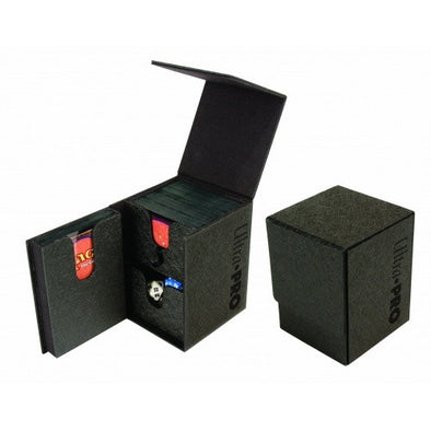 Buy Ultra Pro - Deck Box 100ct - Pro-Tower - Black and more Great Sleeves & Supplies Products at 401 Games