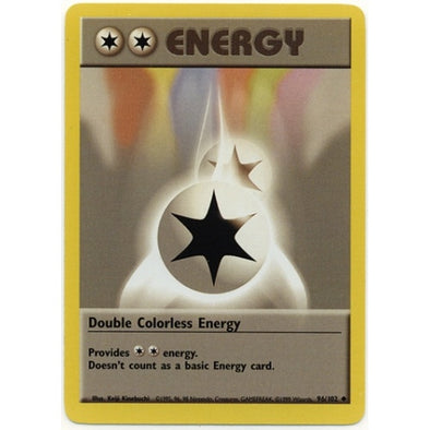 Double Colorless Energy - 96/102 - Unlimited (Base Set) - 401 Games